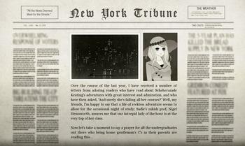 Nigel New York After Turkey Newspaper