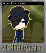 Agent Provocateur Foil Card
