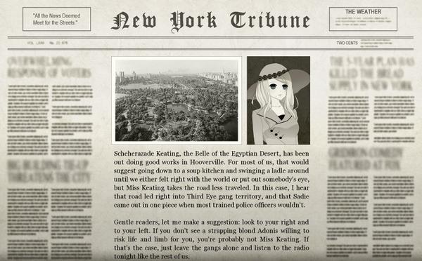 The Third Eye Gang Newspaper