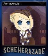 Archaeologist Reg Card