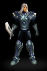 Serpent Fighter Set Male