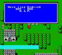 Final-Fantasy-Erdricks Grave NES