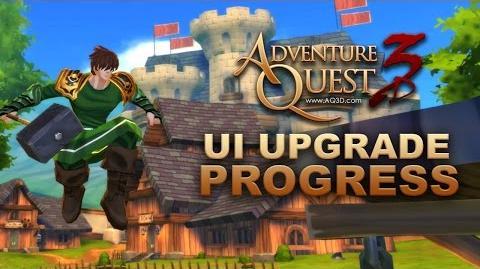 AQ3D UI Upgrade Progress