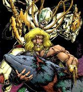 Demon Gate, Aquaman and Porm