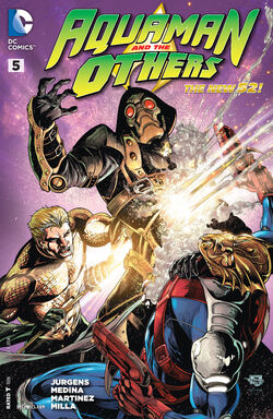 Aquaman and the Others Vol 1-5 Cover-1