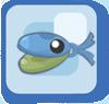 Fish Blue Castanet Fish