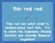 Rod Thin Red Rod 2