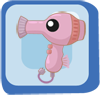 Fish Pink Hair Dryer Seahorse