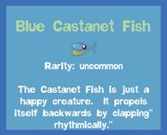 Fish2 Blue Castanet Fish
