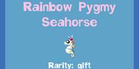 Rainbow Pygmy Seahorse