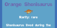 Orange Shonisaurus