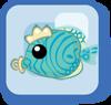 File:Fish Juvenile Emperor Angelfish blue.png
