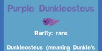 Purple Dunkleosteus