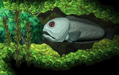 Fish big enemy seawolf