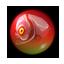 Treasure egg-piranha