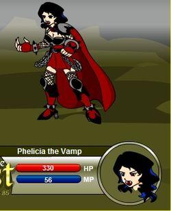 Phelicia the Vamp