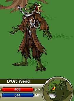 D'Orc Weird
