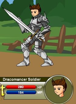 Dracomancer Soldier