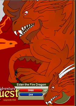 Edan the Fire Dragon
