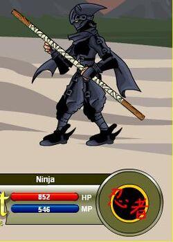 Ninja (Bo Staff)