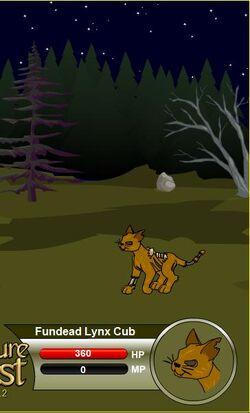 Fundead Lynx Cub