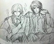 Yorunami and Kugura as a Host