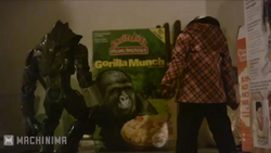 Gorilla Munch = Happy Day