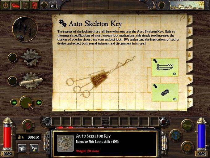 Auto Skeleton Key