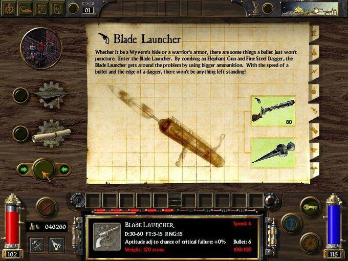 Blade Launcher