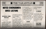 Noted Swordsmith Gives Lecture