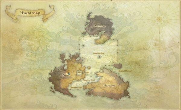 World map new