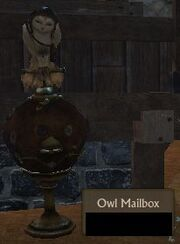 Owl Mailbox