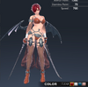 Default Ridika 3D In-Game Model Front Colour 1