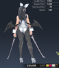 Premium Ridika 3D In-Game Model Back Colour 3