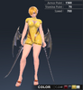 Summer Ridika 3D In-Game Model Front Colour 3