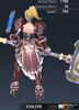 Default Valle 3D In-Game Model Back Colour 2