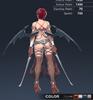 Default Ridika 3D In-Game Model Back Colour 1