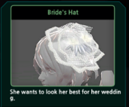 Renoah Bride's Hat