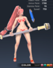 Summer Valle 3D In-Game Model Front Colour 4
