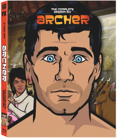 Archer S6 Blu-Ray Box Art