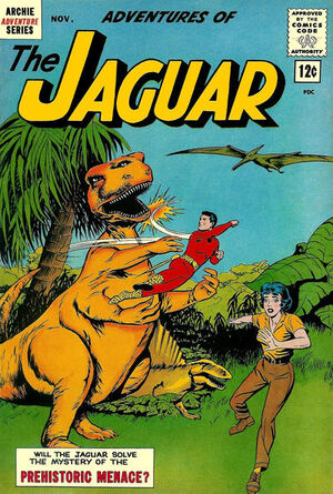 Adventures of the Jaguar Vol 1 10