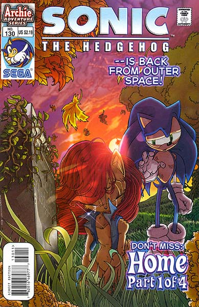 archie sonic the hedgehog issue 130