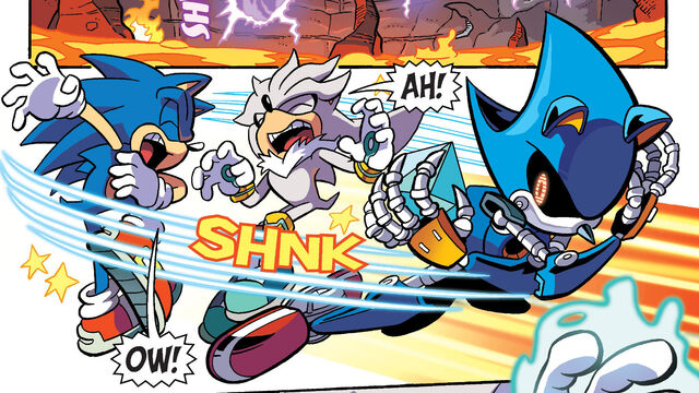 File:Metal Sonic Attacks Sonic and Silver.jpg