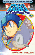 Mega Man #24: Team Sonic Variant cover