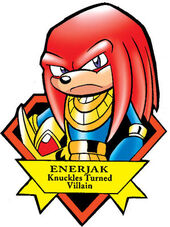 Knuckles Enerjak Icon