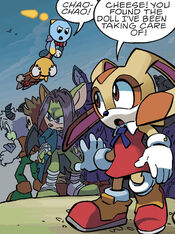 Cheese Finds Tails Doll