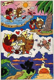 Tails & Auto-Fiona's Romantic Day