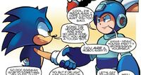 Sonic and Mega Man Team Up
