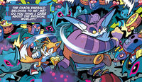 Tails and Big fighting Badniks