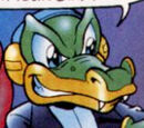 Vector the Crocodile (Light Mobius)